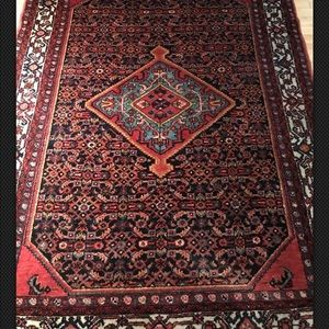 Sarouk Hand Knotted Persian Rug